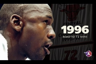 Mix: Chicago Bulls 95-96 – Road To 72 Wins