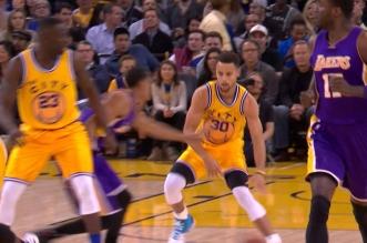 Vidéos: Stephen Curry met dans le vent Lou Williams et Jordan Clarkson