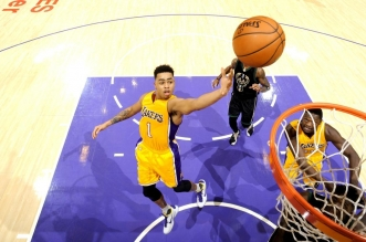 D'Angelo Russell Lakers Los Angeles
