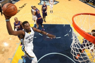 Jeff Green Grizzlies dunk