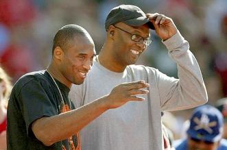 Joe Bryant et Kobe Bryant