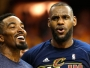 Jr Smith et LeBron James