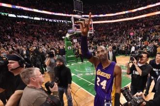 Kobe Bryant Boston Celtics TD Garden