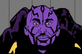 Kobe Bryant Dark Maul