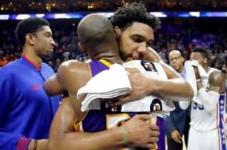 Kobe Bryant et Jahlil okafor