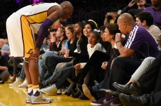 Kobe Bryant vanessa bryant daughter