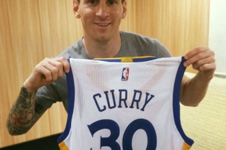 Lionel Messi maillot stephen curry