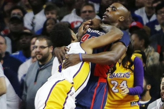 Nick Young et Anthony Tolliver