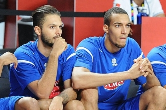 Rudy gobert evan fournier