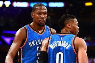 Russell Westbrook t kevin durant