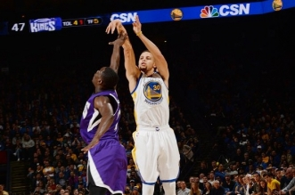 Stephen Curry trois points