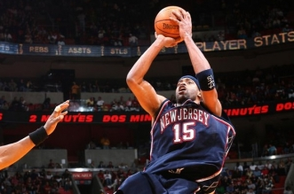 Vince Carter New Jersey Nets Heat