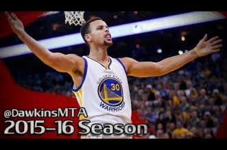 Les highlights de Curry (26 pts, 10 rbds, 9 asts), Green (21 pts, 8 asts) et Thompson (27 pts)