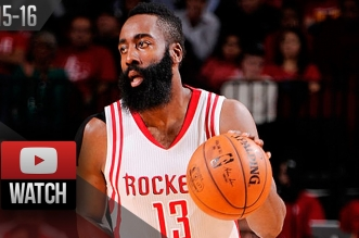 Les highlights de James Harden face aux Hornets: 36 points et 7 passes