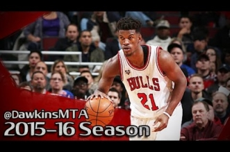 Les highlights de Jimmy Butler (43 pts), Derrick Rose (34 pts), Andre drummond (33 pts) et Reggie Jackson (31 pts)