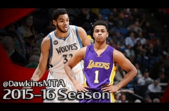 Les highlights de Karl-Atnhony Towns (26 pts), D'Angelo Russell (23 pts) et Kevin Martin (37 pts)
