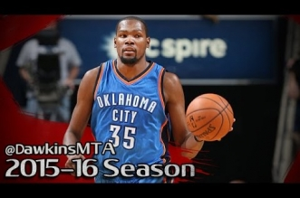 Les highlights de Kevin Durant (32 pts, 10 rbds) et Russell Westbrook (13 pts, 16 asts)