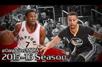 Les highlights de l'incroyable duel Stephen Curry (44 pts) – Kyle Lowry (41 pts)