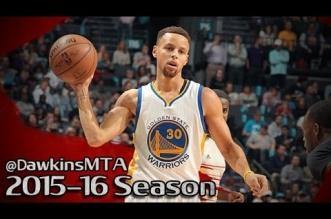 Les highlights de Stephen Curry: 40 poins dont 28 en 3ème quart et 9 passes