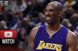 Les highlights du duel à distance Kobe Bryant (21 pts, 8 rbds) – Kyle Lowry (27 pts)