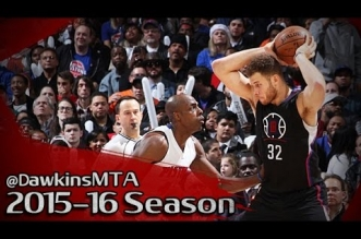 Les highlights du duel Blake Griffin (34 pts) – Reggie Jackson (34 pts)