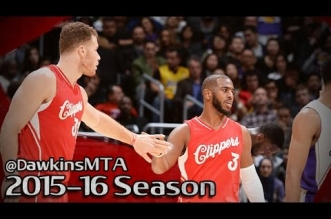 Les highlights du duo Chris Paul (23 pts, 6 asts) – Blake Griffin (13 pts, 12 rbds, 7 asts)