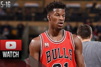 Les highlights du record en carrière de Jimmy Butler: 36 points