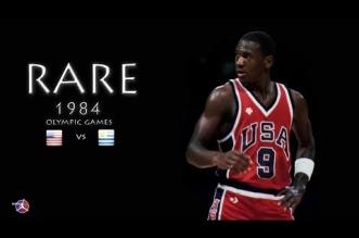 Vidéo: des images rares de Michael Jordan lors des JO 1984