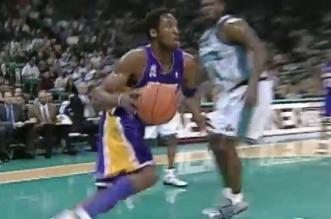 Vidéo: le meilleur en carrière de Kobe Bryant à Charlotte dont son match à 58 points