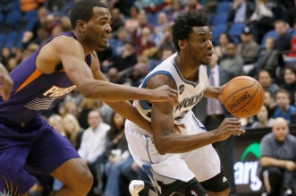 Andrew Wiggins et TJ Warren