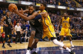 Khris Middleton et Paul George