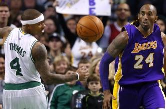 Kobe Bryant et Isaiah Thomas
