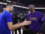Kobe Bryant et Stephen Curry Warriors Lakers