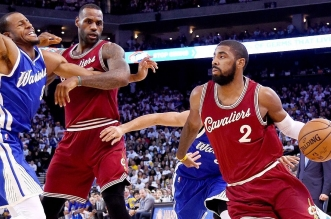 Kyrie Irving et LeBron James