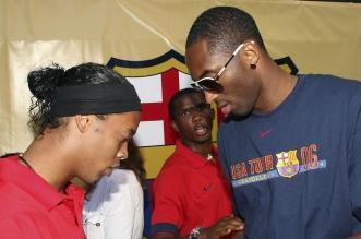 Ronaldinho Kobe Bryant