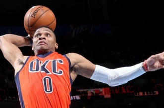 Russell Westbrook dunk