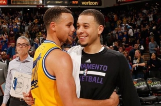 Stephen Curry et Seth Curry