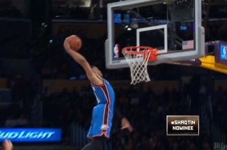 Fails: les dunks ratés de Russell Westbrook et Danilo Gallinari