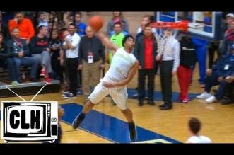 High School: l'impressionnant dunk de Miles Bridges