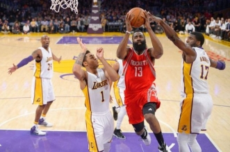 james harden lakers