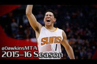 Les highlights de Devin Booker: 32 points dont 6 tirs à trois points