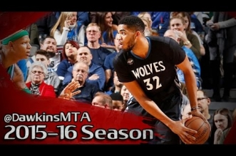 Les highlights de Karl-Anthony Towns (27 pts, 17 rbds, 6 ctrs) et Chandler Parsons (30 pts)