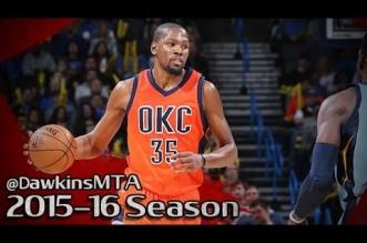 Les highlights de Kevin Durant face aux Grizzlies: 26 points et 17 rebonds