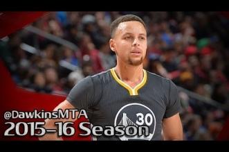 Les highlights de Klay Thompson (32 pts) et Stephen Curry (23 pts)