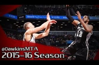 Les highlights de LaMarcus Aldridge face aux Nets: 25 points et 11 rebonds en 28 minutes