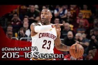 Les highlights de LeBron James (22 pts, 12 asts) et du duel Kyrie Irving (21 pts) – Chris Paul (30 pts)