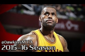 Les highlights de LeBron James (25 pts, 9 asts) – Karl-Anthony Towns (26 pts, 11 rbds)