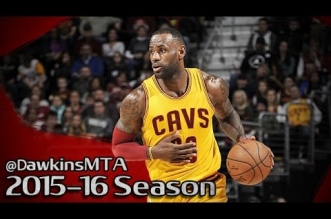Les highlights de LeBron James (29 pts en 29 min) et Kyie Irving (13 pts)
