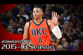 Les highlights de Russell Westbrook (triple-double) et Kevin Durant (24 pts, 10 rbds)