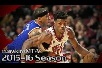 Les highlights du duel Jimmy Butler (23 pts) – Carmelo Anthony (20 pts)